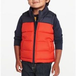 OLD NAVY | Boys Color Block Puff Vest